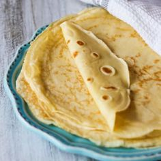 Perfect French Crepes - one of the most popular French street food is not as complicated to make as it may sound. For this easy recipe blender does most of the job.