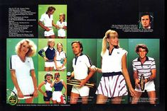 Fed Perry 1980's tennis wear