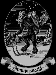 KRAMPUSNACHT T-Shirt - Witherfield Design / great stuff by a great friend o' mine.