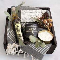 House and Home Gift Box from Loved and Found. Wedding Gift, engagement.