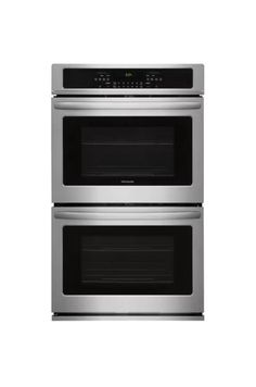 Built-In Electric Double Wall Oven Stainless Steel Ovens Ovens Double Milk Recipes, Veggie Recipes, Veggie Food, Cooking Wine, Fun Cooking, Chicken Broth Can, Chicken Dips, Electric Wall Oven, Riced Veggies