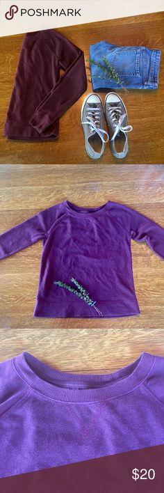 XS Maroon women's crew neck sweater. #shopmycloset #poshmark #fashion #shopping #style #forsale #Merona #Sweaters #sweaterweather #cozy #wintertime #fashionstaple