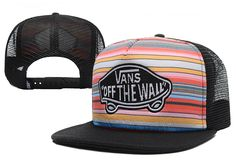 f4ab8ff35e2eec Hot Vans Mesh Snapbacks caps Summer Breathable unisex hip-hop street hats   6 pc