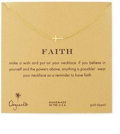 Dogeared Faith Cross Necklace - $62.00