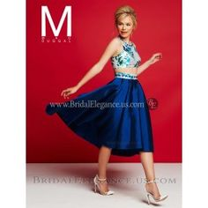 Midwest's Largest Bridal, Prom, and Pageant Store! Flowing Dresses, Nice Dresses, Short Dresses, Formal Dresses, Bridal Elegance, Prom 2016, Dress Drawing, High Low Skirt, Floral Crop Tops