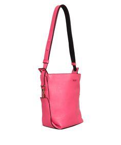 Emilio Pucci Medium size leather bucket Kassia bag. | Lindelepalais.com 31001