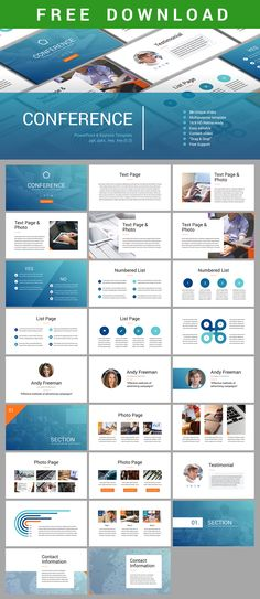 Free Download #Conference #PowerPoint & #Keynote #Template https://hislide.io/product/conference-keynote-template/ #ppt #pptx #key #marketing #slide #presentation