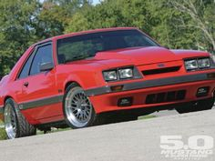 1986 Ford Mustang GT - Jalapeno Popper: Blown Four-Eye!