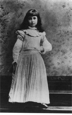 Consuelo Vanderbilt, (1877-1964). Photographed as a child ~ Daughter of, the American Gilded Age - NYC society couple; Henry Kissam Vanderbilt and Alva Vanderbilt. ~ {cwl}