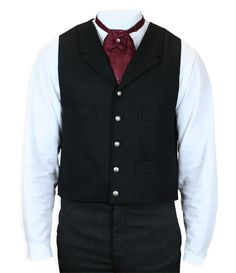 Stafford Vest - Black