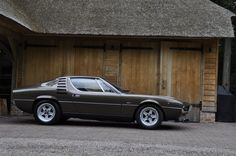 Alfa Romeo Montreal. This is one of the nicest sounding road cars I've ever been in.