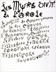 alphabet socio-politique de Jacques Villeglé Typo Logo, Typography, Alphabet, Calligraphy, Math, Recherche Google, Culture, Blog, Crafts