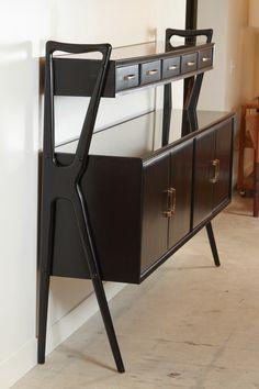 Italian Mahogany Cabinet in the Style of Ico Parisi image 8