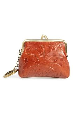 Patricia Nash 'Large Borse' Tooled Leather Bag Charm