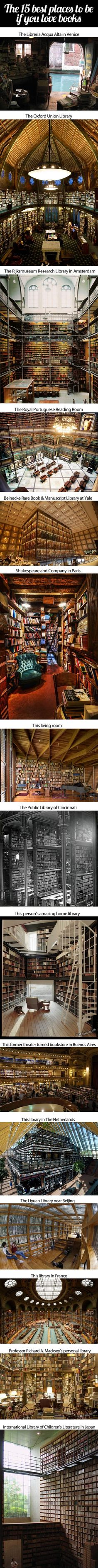This just increased my daily happiness. Except for the last one. Who would design a Children's library that way?