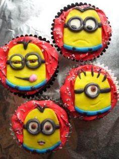 cupcakes for kids | Photo Credit - Etsy Seller Goodies by Melissa