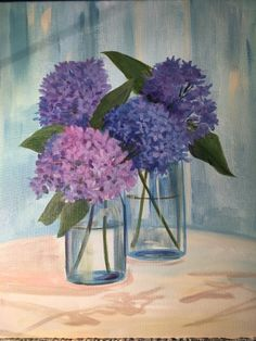 Joy of Spring at The Social Bar and Grill - Paint Nite Events near Tacoma, WA> Social Bar, Painting Classes, Spring Painting, Paint And Sip, Art Flowers, Paint Party, Learn To Paint, Pictures To Draw, Easel