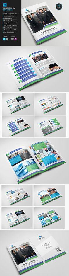 BiFold Business Brochure Template Brochure Templates