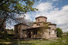 Macedonian Churches   oldest byzantine Church in historical Macedonia 11th c. CE in Pieria Macedonia Greece.