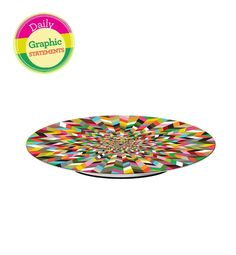 Glo's latest obsession: Graphic statements - Ziggy Lazy Susan!