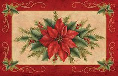 Poinsettia and Berries E-Packet is an por DebbieColeDesigns en Etsy