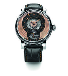 911701b1f Commissioned by a collector from the region, the watch features design cues  that afford it ...