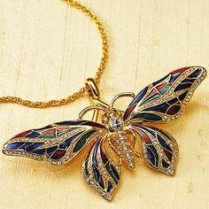 Butterfly Pendant Item #45452   Price (non-member): $98.00  Price (member): $88.20