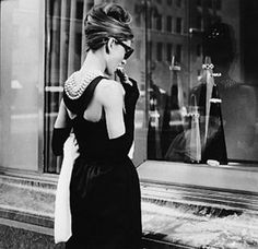 Audrey Hepburn at Tiffany's