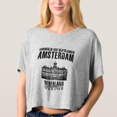 Amsterdam T-shirt - diy cyo customize create your own personalize