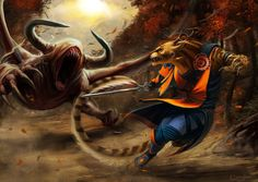 Reaver hunting by Khaidu.deviantart.com on @deviantART