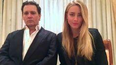 Video: Johnny Depp and Amber Heard make public apology for...: Video: Johnny Depp and Amber Heard make public… #JohnnyDepp #AmberHeard
