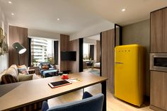 Hotel Renovation Shows the Tendencies of Contemporary Design