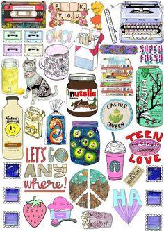 Imprimolandia: sticker