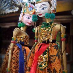 Marionetas wayang kulit