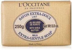 Amazon.com: L'Occitane Shea Butter Extra-Gentle Milk Soap: Beauty