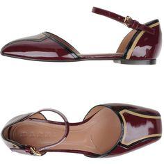 cbd63e636 These Marni Maroon Mary Jane Flats Size US 7 Regular (M