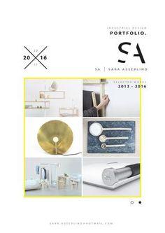 Sara Asserlind - Industrial Design Portfolio 2016