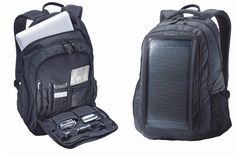 The Samsonite Solar Business Laptop Backpack is not just a solar charger for laptops, but it can also be used for other handheld gadgets like GPS and mobile phone.
