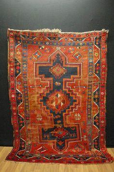 ANTICO  Tappeto KASAK    misure: 230x154cm    rug handrug TAPIS    eBay