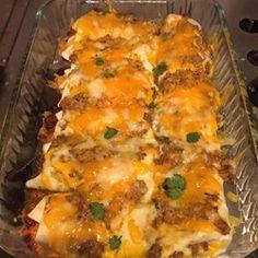 Best Beef Enchiladas Allrecipes.com