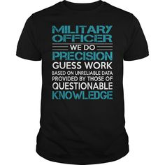 Awesome Tee For Military Officer