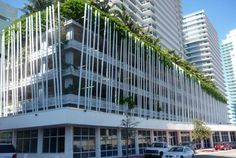 The standard of design in Miami and Miami Beach condos isn't very high, and most sit on chunky, ugly bases of up to ten floors of parking. Really, how many cars do these people have? At the prices people are were paying, why couldn't they sink the