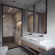 Fabulous #bathroom #bathroomdesign #baderom #interior_delux By Vae