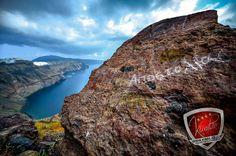 Breathtaking view ! Santorini, Christening, Water, Outdoor, Gripe Water, Outdoors, Outdoor Games, The Great Outdoors, Santorini Caldera