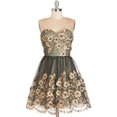 TOPSELLER! Chi Chi London Short Length Strapless Fit & Flare Debut Your Dazzle Dress $120