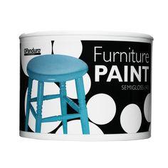 P. Furniture Paint turquoise - till en stol?