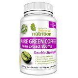 Pure Green Coffee Bean Extract 800 mg Pills. BUY 2 Get FREE Shipping. Full 50% Chlorogenic Acid. Full 1600 mg Serving per Day. 100% Pure and Natural Ingredients. Top Weight Loss and Appetite Suppressant. Lose Weight or Your Money Back!