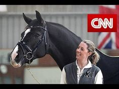 'The girl with the dancing horse' Portrait of Dressage double Olympic gold medalist Charlotte Dujardin and Valegro.