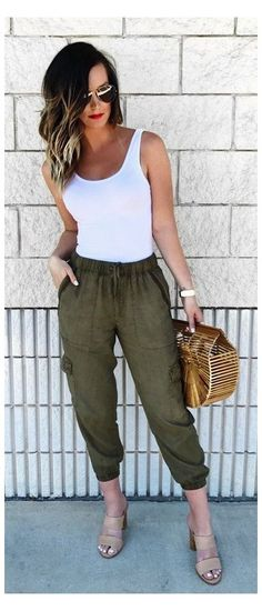 casual summer outfits pants