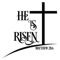 Silhouette Design Store - View Design #122156: he is risen